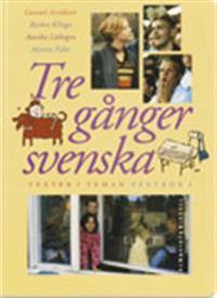 Tre gånger svenska Textbok 1