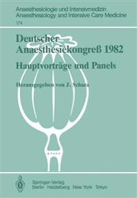 Deutscher Anaesthesiekongress 1982