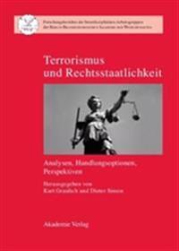 Terrorismus Und Rechtsstaatlichkeit