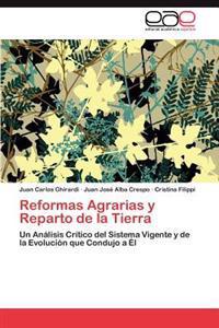 Reformas Agrarias y Reparto de La Tierra