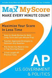 My Max Score AP U.S. Government & Politics