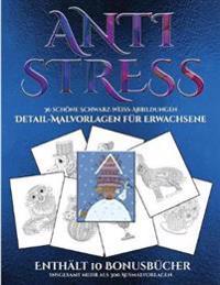 Detail-Malvorlagen fur Erwachsene (Anti-Stress)