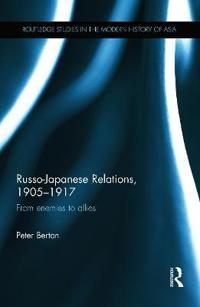 Russo-Japanese Relations, 1905-1917