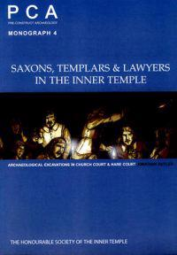 Saxons, Templars and Lawyers in the Inner Temple