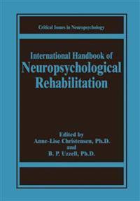International Handbook of Neuropsychological Rehabilitation