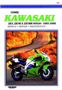 Kawasaki Zx7, Zx7R, Zx7Rr Ninja, 1991-1998