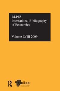 Ibss: Economics: 2009