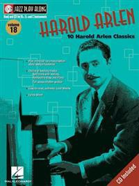 Harold Arlen: Jazz Play-Along Volume 18