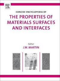 The Concise Encyclopedia of the Properties of Materials Surfaces and Interfaces