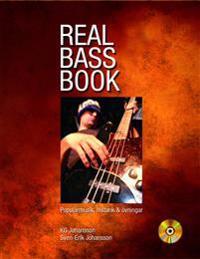 Real bass book : populärmusik, historik & övningar
