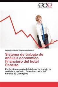 Sistema de Trabajo de Analisis Economico Financiero del Hotel Paraiso