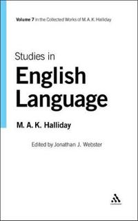 Studies in English Language: Volume 7