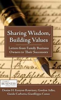 Sharing Wisdom, Building Values