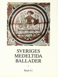 Sveriges medeltida ballader Band 4:1 -  pdf epub