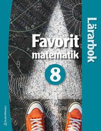 Favorit matematik 8 - Lärarhandledning (digital produkt) Digitalt