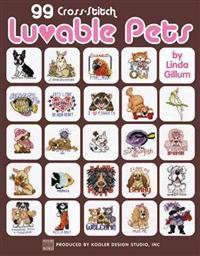 99 Cross Stitch Luvable Pets