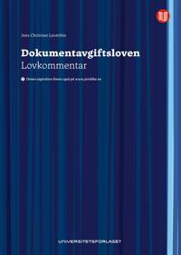 Dokumentavsgiftsloven - Jens Christian Leonthin   Inprintwriters.org