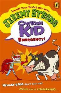 Cartoon kid - emergency!