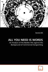 All You Need Is Words