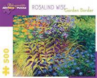 Rosalind Wise Garden Border 500-Piece Jigsaw Puzzle  Aa739