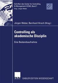 Controlling Als Akademische Disziplin