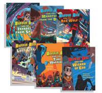 Boffin Boy Reading Books Set 1