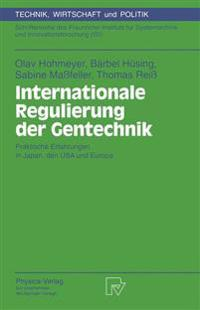 Internationale Regulierung Der Gentechnik
