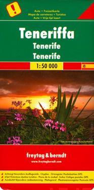 Tenerife Road Map 1:50 000