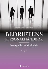 Bedriftens personalhåndbok - Margrethe Meder, Kurt Weltzien | Inprintwriters.org