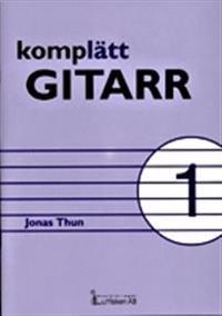 Komplätt gitarr 1