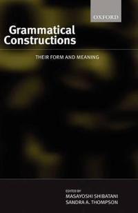 Grammatical Constructions