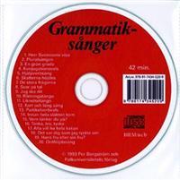 Grammatiksånger cd audio