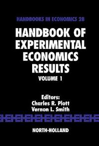 Handbook of Experimental Economics Results