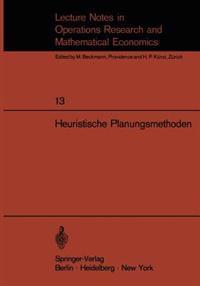 Heuristische Planungsmethoden