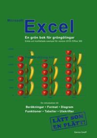 Microsoft Excel : en grön bok för gröngölingar - för version 2019 / Office 365