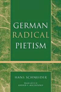 German Radical Pietism