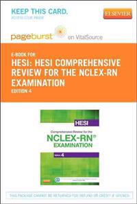 Hesi Comprehensive Review for the NCLEX-RN Examination - Elsevier E-Book on Vitalsource (Retail Access Card)