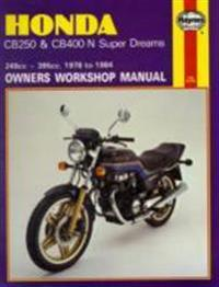 Honda CB250 & CB400N Super Dreams (78 - 84)