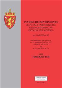 Psykisk helsevernloven (lov om etablering og gjennomføring av psykisk helsevern) av 2. juli 1999 nr. 62 -  pdf epub