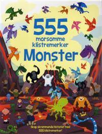 555 morsomme klistremerker. Monster - Oakley Graham   Inprintwriters.org