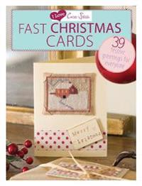 I Love Cross Stitch Fast Christmas Cards