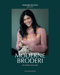 Moderne broderi på strikk og klær; plystre