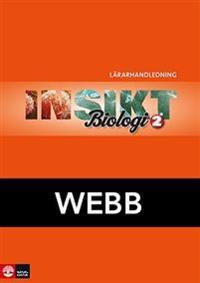 Insikt Biologi 2 Lärarhandledning Webb