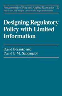 Designing Regulatory Polcy