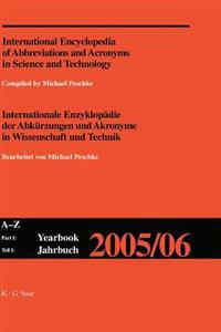 International Encyclopedia of Abbreviations And Acronyms in Science And Technology Yearbook 2005