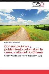 Comunicaciones y Poblamiento Colonial En La Cuenca Alta del Rio Chama