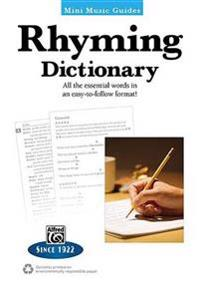 Rhyming Dictionary: All the Essential Words in an Easy-To-Follow Format!