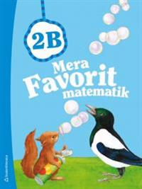 Mera Favorit matematik 2B - Elevpaket (Bok+ digital produkt)