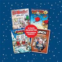 Julehefter 4-pack; Pondus, Lunch, Storefri, Rutetid - Marius Henriksen, Frode Øverli, Børge Lund | Ridgeroadrun.org