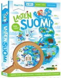 Lasten Suomi -palapeli ja kirja 6-99 v
